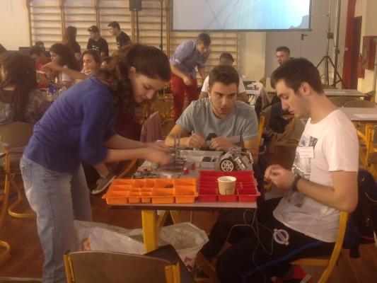 3η θέση στον 7ο Πανελλήνιο Διαγωνισμό Εκπαιδευτικής Ρομποτικής στην κατηγορία Λυκείων